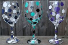 Personalized Wine Glass 20 oz  by ahindle78 on Etsy, $10.00