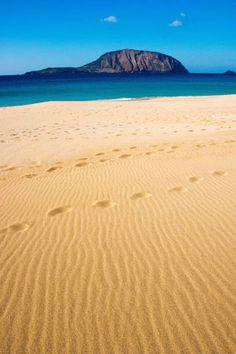 Traumhaftes Farbenspiel: Die Playa de las Conchas