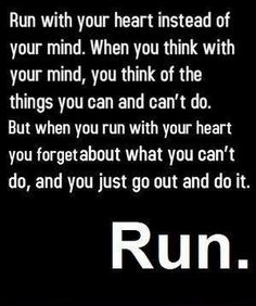 Run. | #quote #inspiration #running