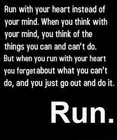 Run. | #quote #inspiration #running