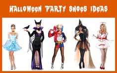 Halloween Party shoes suggestions from Begg Shoes. Once Halloween is over, you'll have a great addition to your wardrobe! Halloween Shoes, Halloween Party, Latest Shoe Trends, Party Shoes, Dress Up, Wonder Woman, Superhero, Blog, Ideas