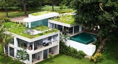 Spectacular Vacation Home with Green Roof  Hometone