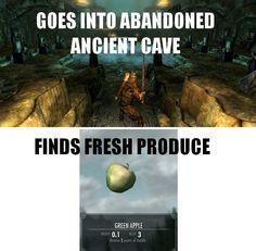 Skyrim logic...