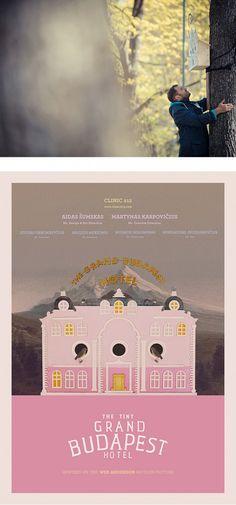 The Tiny Grand Budapest Hotel par Clinic 212 - Journal du Design