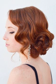 Gorgeous Prom Hairstyles for Short Hair for 2017 ★ See more: http://lovehairstyles.com/prom-hairstyles-for-short-hair/