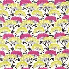 Sanderson Tree Tops Fabric DMAD222708 Designer Fabrics and Wallpapers by Sanderson, Harlequin, Morris, Osborne, Little And many more
