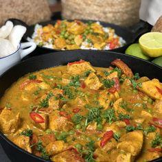 Chicken Recepies, Vegetarian Recipes, Healthy Recipes, Asian Recipes, Ethnic Recipes, Crockpot, Korma, Food Plating, Appetizer Recipes