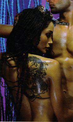 Love me some Lisa Bonet.  This spread in Vibe magazine circa 2000 or so left a vivid lasting impression on me.