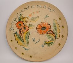 Vintage Berggren tole hand painted wooden tray floral Smogasbordt design 1940 signed by CircularVintage on Etsy