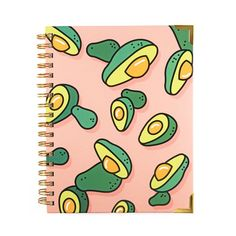 Avocado Shower Notebook