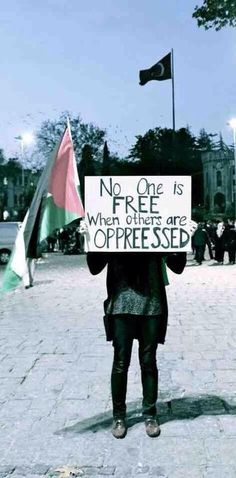 """""""No one is free when others are oppressed""""  [follow this link to find a bundle of clips related to social change: http://www.thesociologicalcinema.com/1/category/social%20mvmtssocial%20changeresistance5f837e09f6/1.html]"""