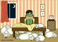 ...e poi ci sono quelle notti in cui mi ritrovo a contare  le pecore assopite.