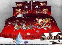 53 Best Christmas Bedding Images Xmas Bed Room Bedrooms