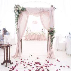 Garden Wedding Aisle Decor Events 55 Ideas For 2019 Wedding Arch Rustic, Wedding Ceremony Arch, Garden Wedding Decorations, Wedding Centerpieces, Flower Backdrop, Trendy Wedding, Wedding Ideas, Wedding Vintage, Wedding Colors