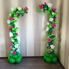 Balloon arch..... beautiful... too complicated for me...