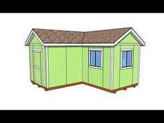 L shaped shed outdoor plans pinterest sheds for L shaped shed designs