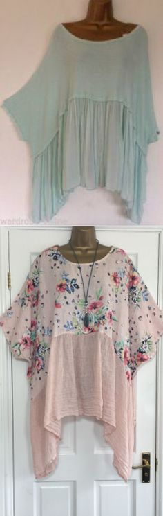 Best Ideas For Sewing Clothes Tops Blouses Moda Old Dress, Boho Fashion, Fashion Outfits, Fashion Design, Bluse Outfit, Sewing Blouses, Mode Plus, Bohemian Mode, Looks Plus Size