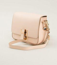Boxy Flap Cross Body Bag by Sophie Hulme // #Shopping #Handbags