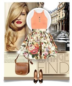 """""""Vintage"""" by elizamonel ❤ liked on Polyvore"""