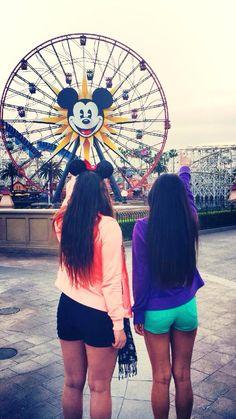 Disneyland with your best friend!