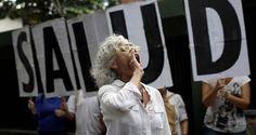 ¡NO DEJEN SOLA A VENEZUELA! El grito de los médicos frente a la Organización Panamericana de la Salud #25Sep