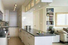küche klein | Kleine Küche einrichten -Tipps für Raumverteilung und Farben
