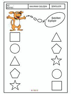 Preschool Games, Preschool Worksheets, Activities, Printable Shapes, Kindergarten Math, Math Centers, Coloring Pages, Money, Reading