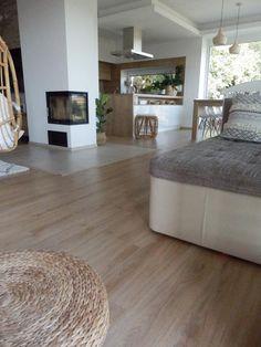 Open Kitchen And Living Room, Kitchen Room Design, Home Room Design, Dream Home Design, Interior Design Kitchen, House Design, Casa Loft, Modern Kitchen Interiors, Living Room Windows