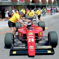 Scuderia Ferrari SpA SEFAC No.28 Gerhard BERGER Ferrari 640 Ferrari Tipo035/5 NA3.5L V12 Goodyear