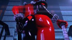 Batman - Imflain3D - Harley Quinn