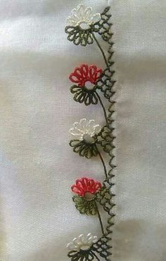 Crochet Unique, Crochet Motif, Needle Tatting, Needle Lace, Hand Embroidery, Embroidery Designs, Hairpin Lace, Point Lace, Lace Border