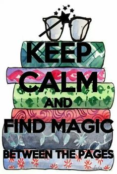 Keep calm and find m