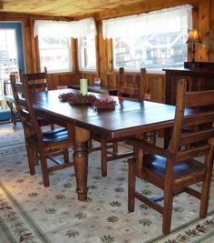 Amish Farmhouse Table At Soergels Farm