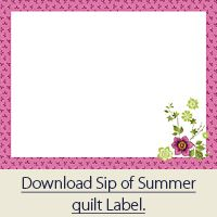Nice collection of quilt label templates and instructions how to ...
