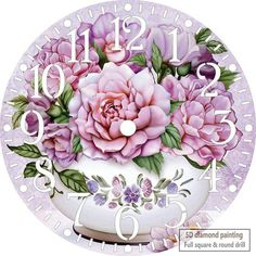 Reborn 5d Diamond Embroidery Full Set Cartoon Clock Diamond Painting Mosaic Flying Carpet Beaded Embroidery Rhinestone Pictures For Sale