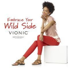 On the hunt for new sandals? Every woman needs an animal print style in her closet, like the Tatiana from Vionic with Orthaheel Technology. Or go for cute flats and other casual shoes, all podiatrist-designed to align your body with every step and help relieve plantar fasciitis.
