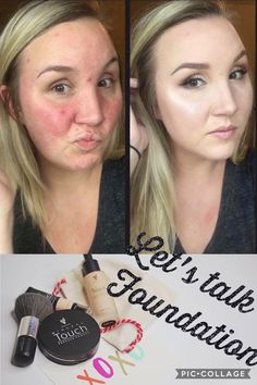 Foundation for any type of skin! Oils, dry, normal to dry... you name it! Younique offers BB cream, Touch mineral; Liquid foundation, cream foundation, and pressed powder! All are equally amazing! Awesome full coverage with a light weight feeling   https://www.youniqueproducts.com/sarahdjohnson/business