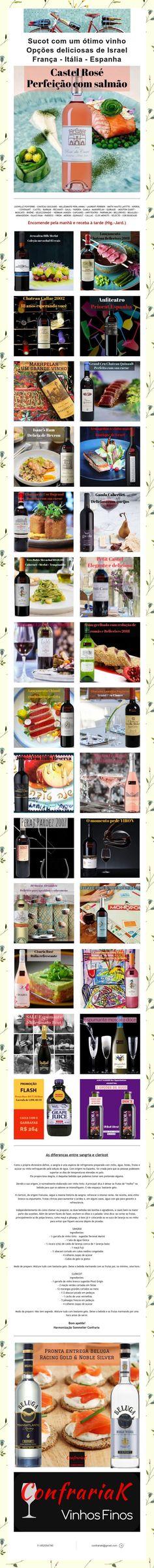Sucot com um ótimo vinho Opções deliciosas de Israel França - Itália - Espanha Israel, Spain, Italia