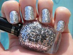 Milani chunky silver glitter