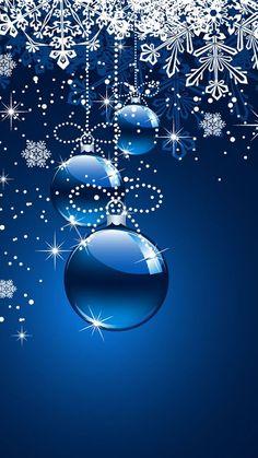 Christmas snowflake ornament phone wallpaper #wallpaper: