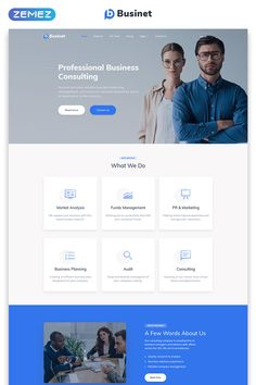 This extraordinary Business Consulting Modern Multipage Template will help you to create an outstanding website for your business consulting agency. Corporate Website Design, Business Web Design, Web Design Websites, Wordpress Website Design, Web Design Trends, Business Ideas, Portfolio Website Design, Website Design Layout, Homepage Design