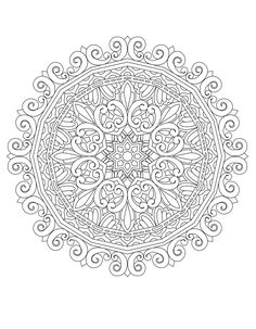 50 Original Hand Drawn Mandala Designs