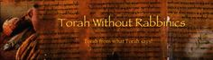 January   2013   Torah Without Rabbinics
