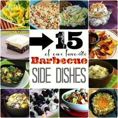 All of these barbecue side dishes are tried and true crowd pleasers. They are all super easy and your friends and family will love them! Recipes include - Macaroni Salad, Jalapeno Poppers, Pizza Pasta Salad, and more!