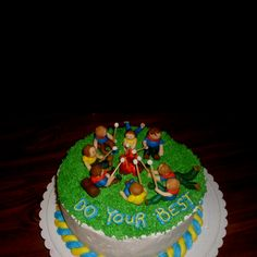 Cubscout cake