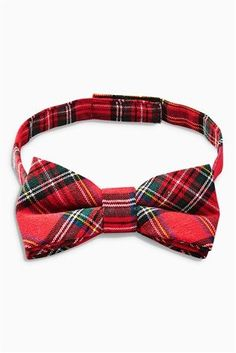 Buy Red Tartan Bow Tie from the Next UK online shop
