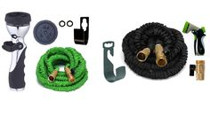 "Top 5 Best Garden Hoses Reviews 2016 Best Garden Water Hose Reviews  I put links to each Garden Hoses reviews at Amazon page in the description So you can check out the other reviews at Amazon.   1. Camco 22833 Premium Drinking Water Hose (5/8""ID x 25') http://amzn.to/295j9gY  2. Garden Hose 50 Ft Heavy Duty Expanding Water Coil Best Flexible Expandable Retractable Collapsible Shrinking Hoses Strongest Lightweight Solid Brass Fittings. For Grass Dock Warehouse Gardner Plants…"
