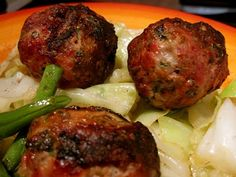 """Czech Meatballs from Melissa Joulwan. I make these from her cookbook """"Well Fed"""" at least once a week. They are delicious hot or cold and I usually make a double batch so I can have some for lunches. #paleo #Whole30"""