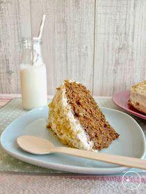 Os dejo mi versión de Tarta de Zanahoria, una receta dulce buenísima para vuestras meriendas y fiestas #recetas #tartas #pasteles #zanahoria #fiestas