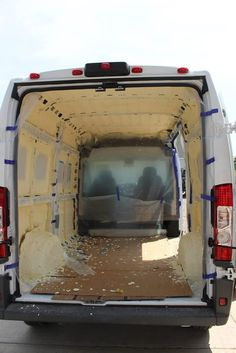 Our ProMaster Camper Van Conversion – Installing Insulation – Build A Green RV Van Conversion Insulation, Van Insulation, Thermal Insulation, Insulation Types, Suv Camping, Sprinter Van Conversion, Camper Van Conversion Diy, Ford Transit Camper Conversion, Vw Buzz